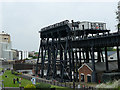 SJ6475 : Anderton boat lift and aqueduct by Stephen Craven