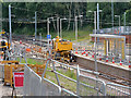 SD8402 : Track Laying at Crumpsall Metrolink Station - July 2019 by David Dixon