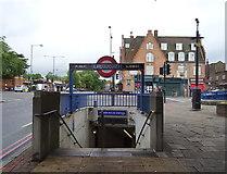 TQ3287 : Entrance to Manor House Underground Station  by JThomas