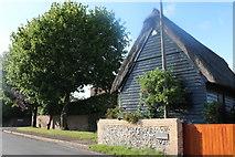 TL4238 : Barn by Hall Lane, Great Chishill by David Howard