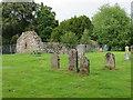 NH4943 : Kiltarlity old church and graveyard by Gordon Hatton