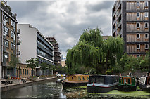 TQ3283 : Wenlock Basin by Ian Capper