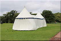 NS2209 : Marquee at the Swan Pond, Culzean Country Park by Billy McCrorie