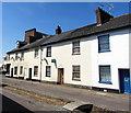 SS9512 : White houses, Castle Street, Tiverton by Jaggery