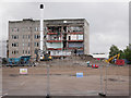 NH6646 : Inverness College demolition by Craig Wallace