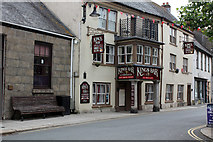 SW7834 : Kings Arms Hotel, 3 Broad Street, Penryn by Jo Turner