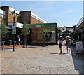SS9512 : Londis in Tiverton town centre by Jaggery