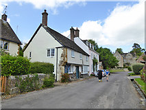 ST6601 : Houses on Abbey Street, Cerne Abbas by Robin Webster