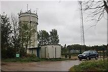 TM4574 : Blythburgh water tower by David Howard