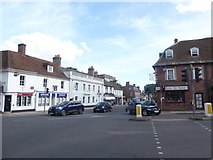 SY9287 : Crossroads in Wareham town centre by Basher Eyre
