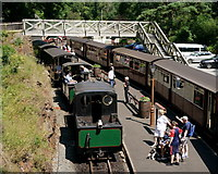 SH6441 : Arriving at Tan-y-Bwlch by Peter Trimming
