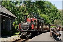 SH6441 : 'David Lloyd George' at Tan-y-Bwlch by Peter Trimming