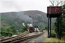 SH5848 : Beddgelert Station by Peter Trimming
