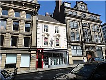 NZ2564 : Contrasting styles on Mosley Street by Robert Graham