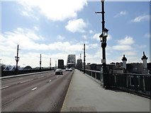 NZ2563 : View across the Tyne Bridge by Robert Graham