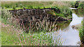 SN6863 : Grasses and the Afon Teifi on Cors Caron, Ceredigion by Roger  Kidd
