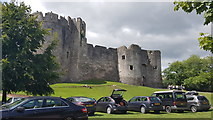 ST5394 : Chepstow Castle by Helen Steed