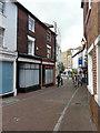 TR2235 : Two derelict shops, Church Street by John Baker