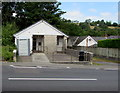 SN4436 : Former public toilets in Pencader by Jaggery