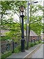 SJ6604 : Cast-iron lamppost in Coalbrookdale by Richard Law