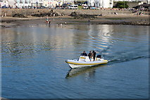 NW9954 : Just 4 Fun approaching Inner Harbour, Portpatrick by Billy McCrorie