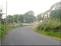 J0613 : Approaching road bridge OBB159 from the east along the L7093 by Eric Jones