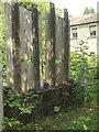 ST7761 : Sluice gates at Monkton Combe Mill by Neil Owen