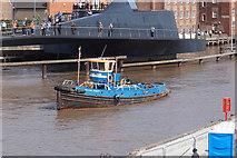 TA1028 : Tug boat Gillian Knight by Ian S