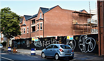 J3472 : Nos 136-139 University Avenue, Belfast (August 2019) by Albert Bridge