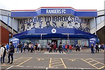 NS5564 : The Rangers Megastore at Ibrox Park by Steve Daniels