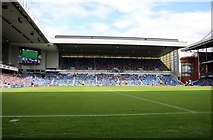 NS5564 : The Copland Road Stand at Ibrox Stadium by Steve Daniels