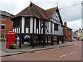 SO7225 : Market Hall, Newent by Philip Halling