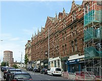 SK5640 : 106-124 Derby Road, Nottingham by Alan Murray-Rust