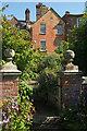 SO5476 : Rose garden, Henley Hall by Derek Harper