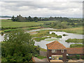 SO7204 : Rushy Lake and Peng Observatory, Slimbridge Wetland Centre by David Dixon