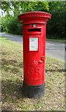 TQ2087 : George V postbox on Salmon Street, Kingsbury by JThomas