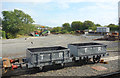 SH5800 : Yard at Tywyn Wharf by Des Blenkinsopp