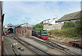 SH5900 : Talyllyn Railway Yard at Pendre by Des Blenkinsopp