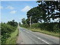SK1420 : Road heading west to Woodlane and the A515 by Christine Johnstone