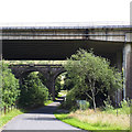 NY6001 : Borrowbridge Viaducts by Stephen Craven