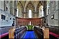 NY1133 : Bridekirk, St. Bridget's Church: The chancel by Michael Garlick