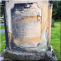 SD6178 : St Mary, Kirkby Lonsdale - Rose & Crown memorial by Stephen Craven