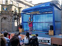 NT2573 : Edinburgh Fringe, The Mercat Stage by David Dixon