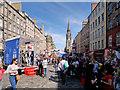 NT2573 : Edinburgh High Street at Festival Time by David Dixon