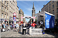 NT2573 : Edinburgh Fringe, Lower Stage on High Street by David Dixon