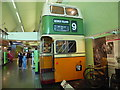 NS5565 : Back of Glasgow motorbus in the Riverside Museum by David Hillas
