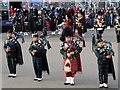 NT2573 : Royal Edinburgh Military Tattoo :Pipers on the Castle Esplanade by David Dixon