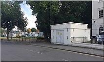SP3165 : Substation, Dormer Place, Leamington by Robin Stott