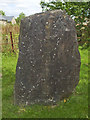ST6990 : Cromhall's millennium stone by Neil Owen