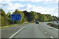 TL4452 : M11 Southbound near Hauxton by David Dixon
